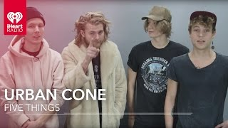 Urban Cone Interview - Five Things