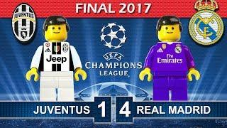 Champions League Final 2017 • Juventus vs Real Madrid • Goals Highlights Lego Football Film
