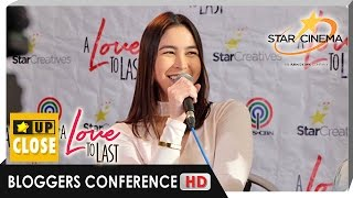 Julia talks about learning ballet + other preparations in 'A Love To Last'