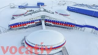Russia New Arctic Base Sits On $35 Trillion Oil Reserves
