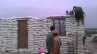 Earth Bag Roof Gardar