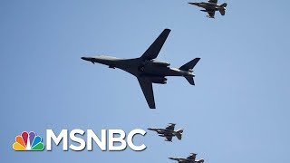 US Flies Fighter Jets Over South Korea In Show Of Force To North Korea | Morning Joe | MSNBC