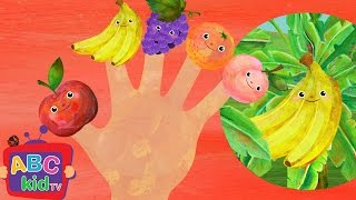 Finger Family - Fruits | Nursery Rhymes & Kids Songs - ABCkidTV