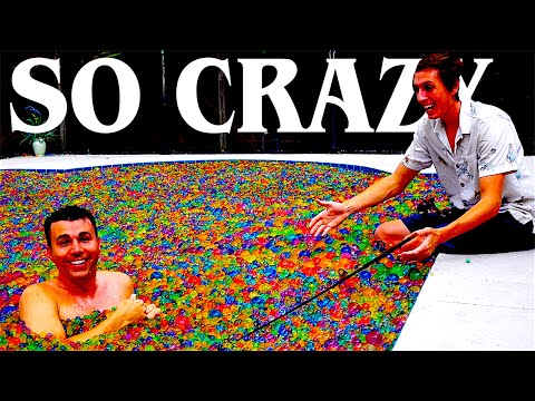 Pool full of Orbeez Experiments