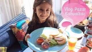 Vlog: Pazar Kahvaltısı / Sahilde çocuklarla güzel bir pazar