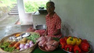 Chicken Stew prepared in my Village by Grandma