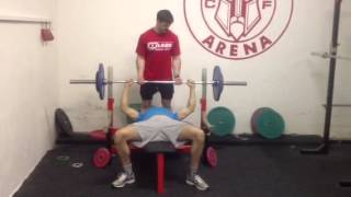 Kuba bench 85 kg