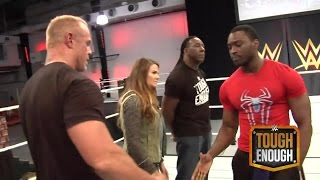 Competitors are cut from the WWE Tough Enough tryout  - WWE #ToughEnough