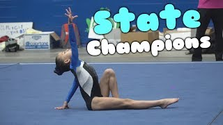 9.925 At Gymnastics State Competition| Rachel Marie