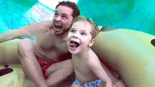 Trapped In GIANT WATERSLIDE at World