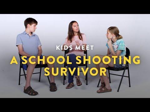 Kids Meet a School Shooting Survivor Kids Meet HiHo Kids