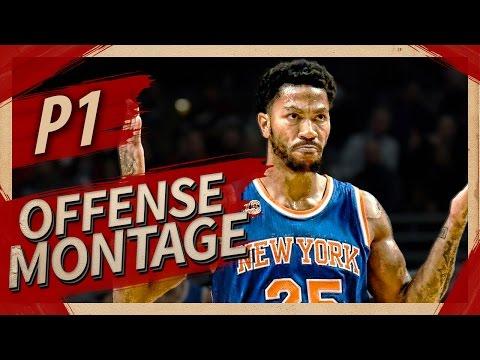 Derrick Rose UNREAL Offense Highlights Montage