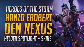 Hanzo erobert den Nexus! | Hanzo Spotlight + Skins + Gameplay ★ Heroes of the Storm Deutsch