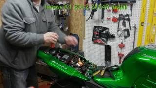 Innovv K1 ZX14R Install 2-15-2017