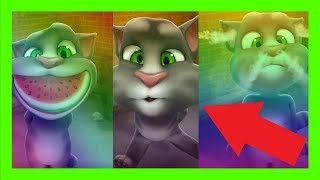 Baby Learn Colors with Talking Tom Cat Colors for Kids Animation Education Compilation Cartoon 2017