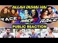 Download Allah Duhai Hai RACE Vs RACE 2 Vs RACE 3 Public Reaction Salman Khan Jacqueline Saif Ali Khan mp3