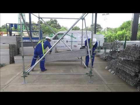 Cómo armar andamios certificados multidireccionales
