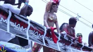 Rihanna Sexy at Carnival in Barbados