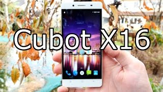 Cubot X16 First Test & Unboxing - Ultra Slim and cheap Chinaphone ! [4K]