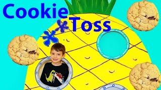 SpongeBob Cookie Game Huge Challenge Surprise Prizes Patrick Sandy Squidward Fun Video