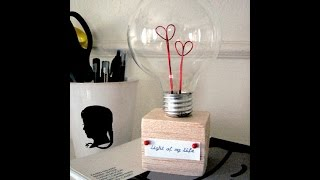 Bright Ideas: 20 Lightbulb Projects