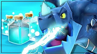 Ghost Electro Dragon aka Electrone Still Viable + TH9 Air | Clash of Clans