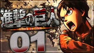 Attack On Titan (PS3) Walkthrough Part 1 |  No Commentary Gameplay