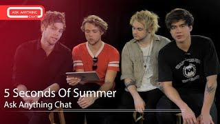 5 Seconds Of Summer Interactive Chat w/ Romeo Saturday Night Online  - AskAnythingChat