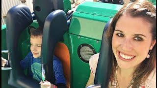 THE TODDLERS RIDE ROLLER COASTERS 😱  Who Will Pee Their Pants?