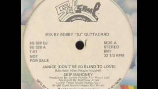 SKIP MAHONEY  - Janice (Don