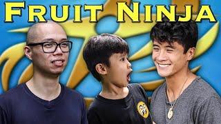 FAN FILM: Fruit Ninja - feat. Peter Sudarso [Power Rangers]