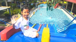 Kolam Renang Anak Pancuran Mas Purbayasa Water Park - Children's Pool Waterboom