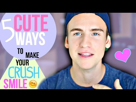 5 Cute Ways To Make Your Crush Smile!