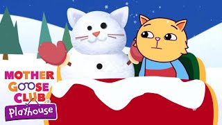 Jingle Bells   Christmas Songs for Kids   Snow Kitten   Holiday Songs by Mother Goose Club Playhouse
