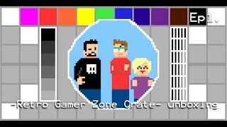 Retro Gamer Zone Crate Unboxing