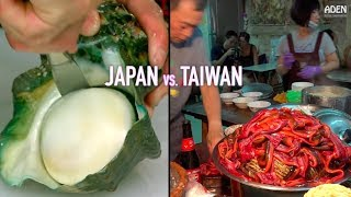 Japan vs. Taiwan - Street Food in Asia