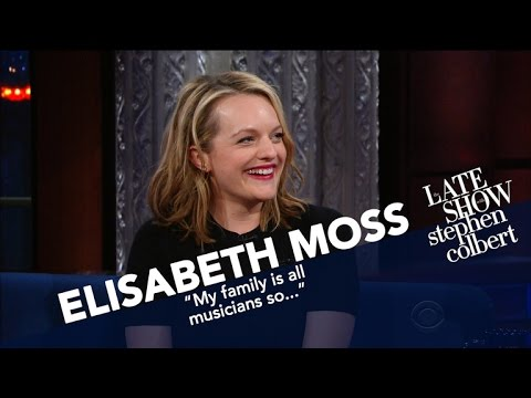 Elisabeth Moss Describes A Fictional Totalitarian Right Wing Regime