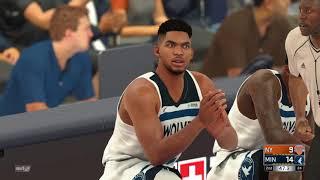 2021-2022 Knicks vs Timberwolves