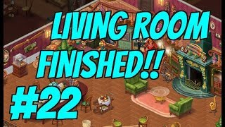 HOMESCAPES Gameplay Story Walkthrough Part #22 Video | Living Room Area Day 5 and 6