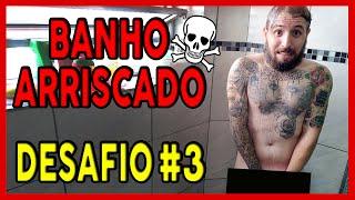 TOMANDO BANHO NA CASA DE ESTRANHO! DESAFIO #3