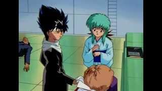 Hiei saves his sister Yukina