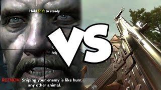 World at War 2 VS World at War Remastered...