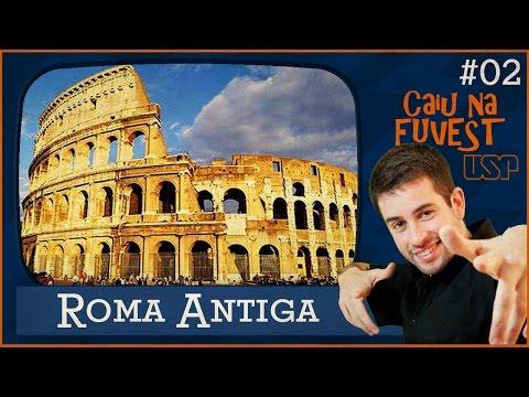 CAIU na FUVEST #02: Roma Antiga (Questão 76 - Prova V - 2015/2016)
