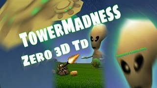 TowerMadness Zero: 3D TD - HD Android Gameplay - Tower Defense Games - Full HD Video (1080p)