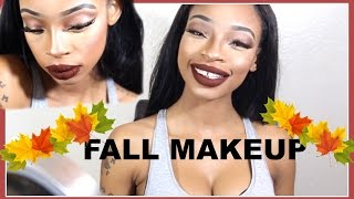 Get Ready With Me Fall Makeup | Sharee Love