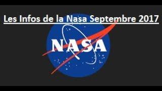 Top 10 des Infos de la Nasa de Septembre 2017 (All Subtitles Languages)