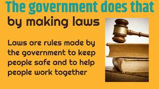 Purpose of Government for Kids | Classroom Edition