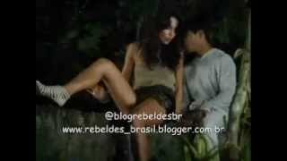 Rebelde Brasil - Alice, Pedro, Carla e Tomas pulam o muro de volta ao colégio (06/03/2012