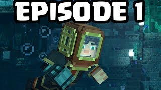"Minecraft Story Mode: SEASON 2 - EPISODE 1 - FIRST GAMEPLAY! ""Hero in Residence"""