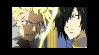 Fairy Tail| Natsu vs Sabertooth English Dub_1